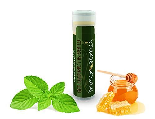 FROSTED WOODS Works of Hand Soap Tree Oil of a Jarosa Organic Peppermint Lip Balm