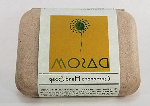 gardeners hand organic bar soap