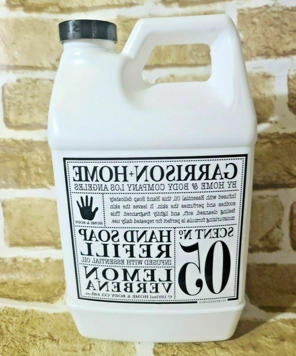 Garrison + Home Hand Soap Refill 64 Fl Oz Lemon Verbena W Es