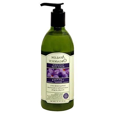 glycerin hand soap lavender 12 fl oz