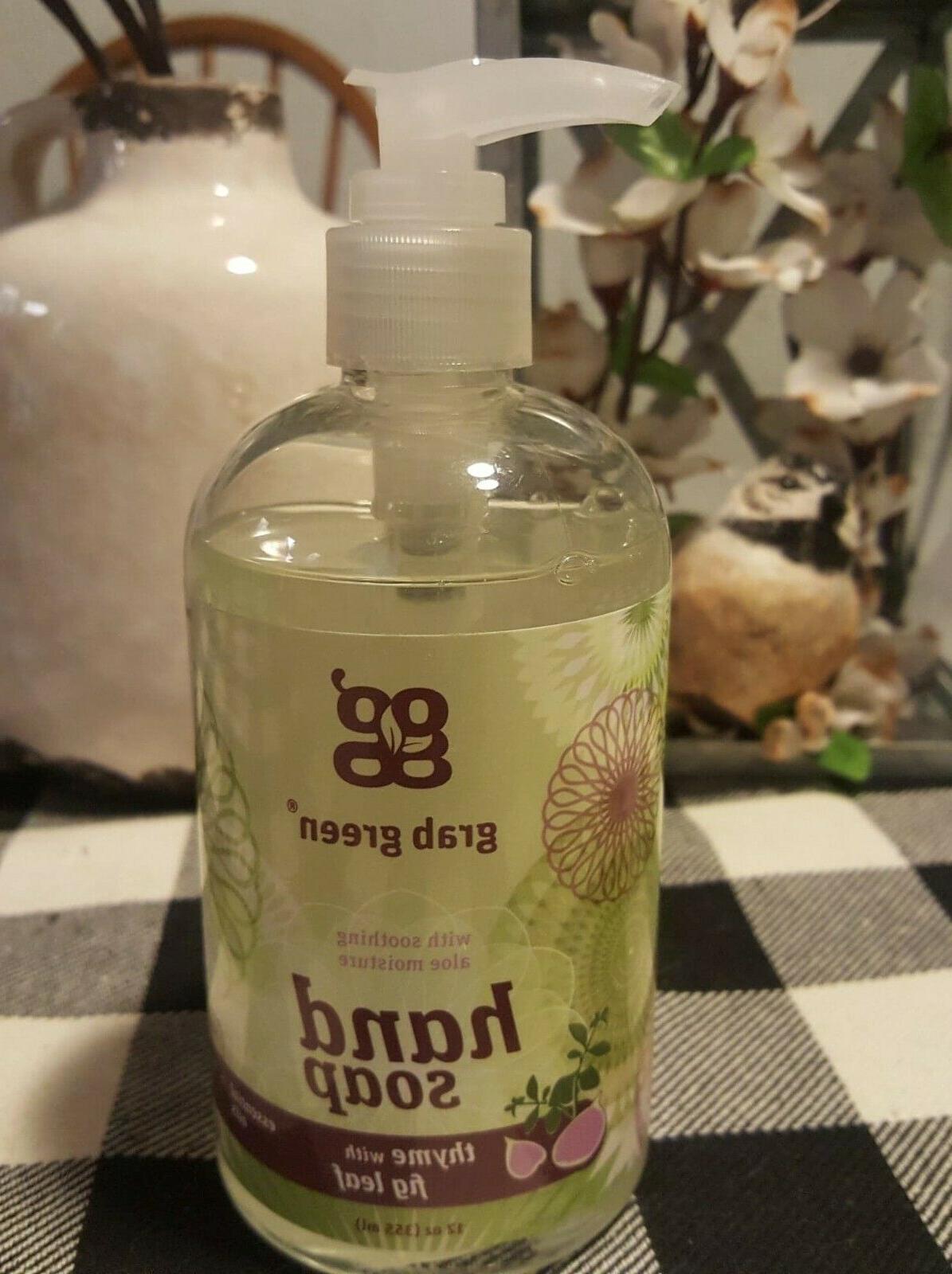 Grab Green Thyme with Fig Leaf Hand Soap 12 oz.