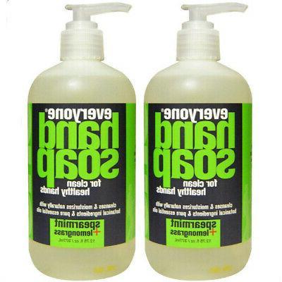 Everyone Hand Soap, Spearmint plus Lemongrass, 12.75 oz