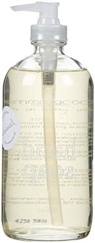 Hand Soap 16oz Glass Bottle Lavender