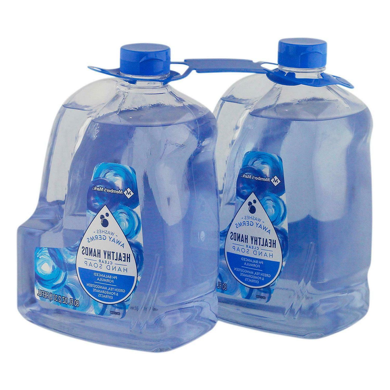 hand soap refill balanced ph gentle on