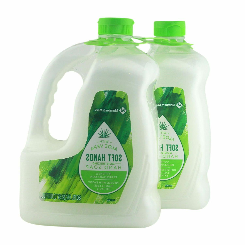 Hand Soap Aloe Vera Formula Extract