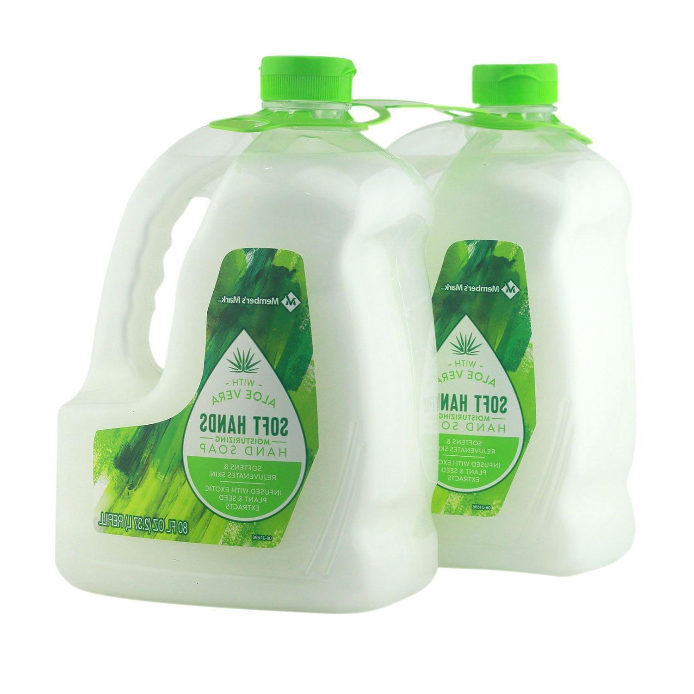 hand soap refill moisturizing aloe vera mild