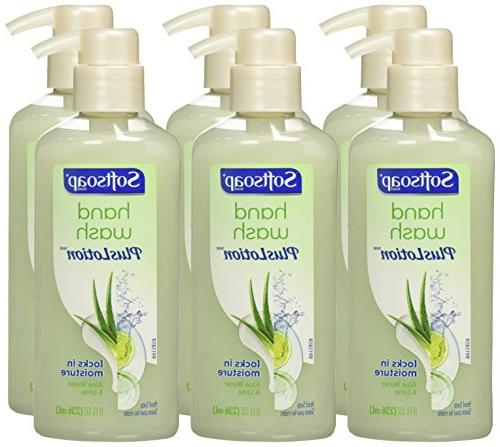 Softsoap Plus Lotion Pump, and Lime - fluid ounce