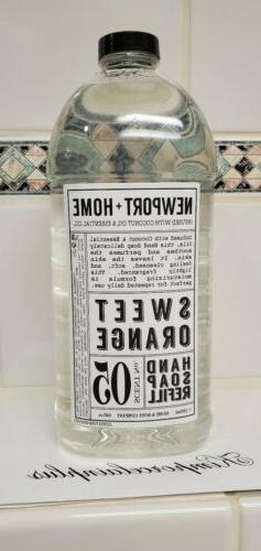 Home Body CO Newport + Home HAND SOAP Refill 64 fl oz SWEET