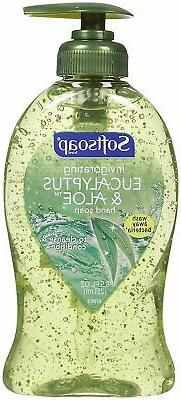 Softsoap Invigorating Eucalyptus & Aloe Hand Soap- 8.5 Fl.Oz