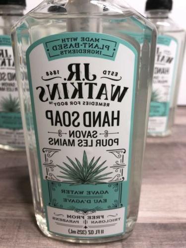 J.R. Soap Agave Water Eau Plant Oz
