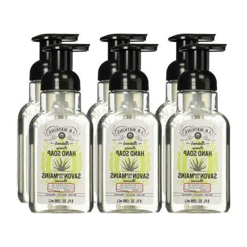 j r watkins hand soap foaming 9
