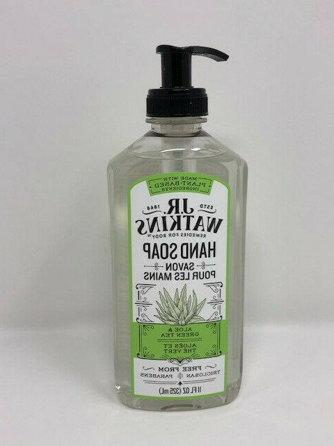 j r watkins liquid hand soap aloe