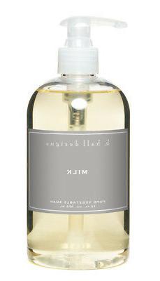 k hall design Milk Liquid Hand Soap 12 oz. with pump Favorit