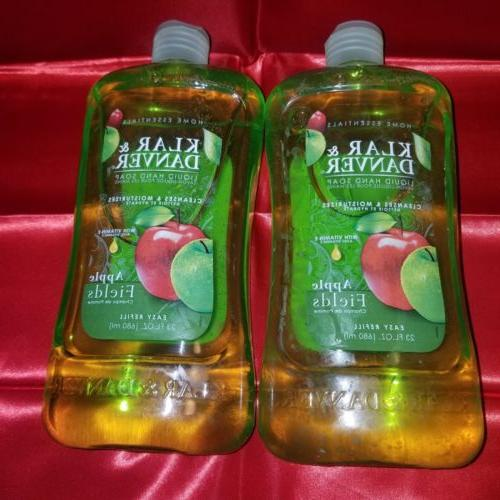klar and danver liquid hand soap apple