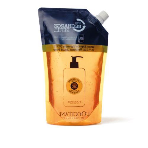 L'Occitane Shea Butter Verbena Liquid Hand Soap, Refill, 16.