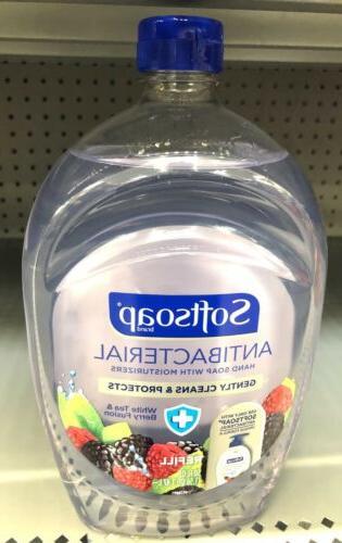 Large 50oz Refill Bottle Softsoap Liquid Hand Soap White Tea
