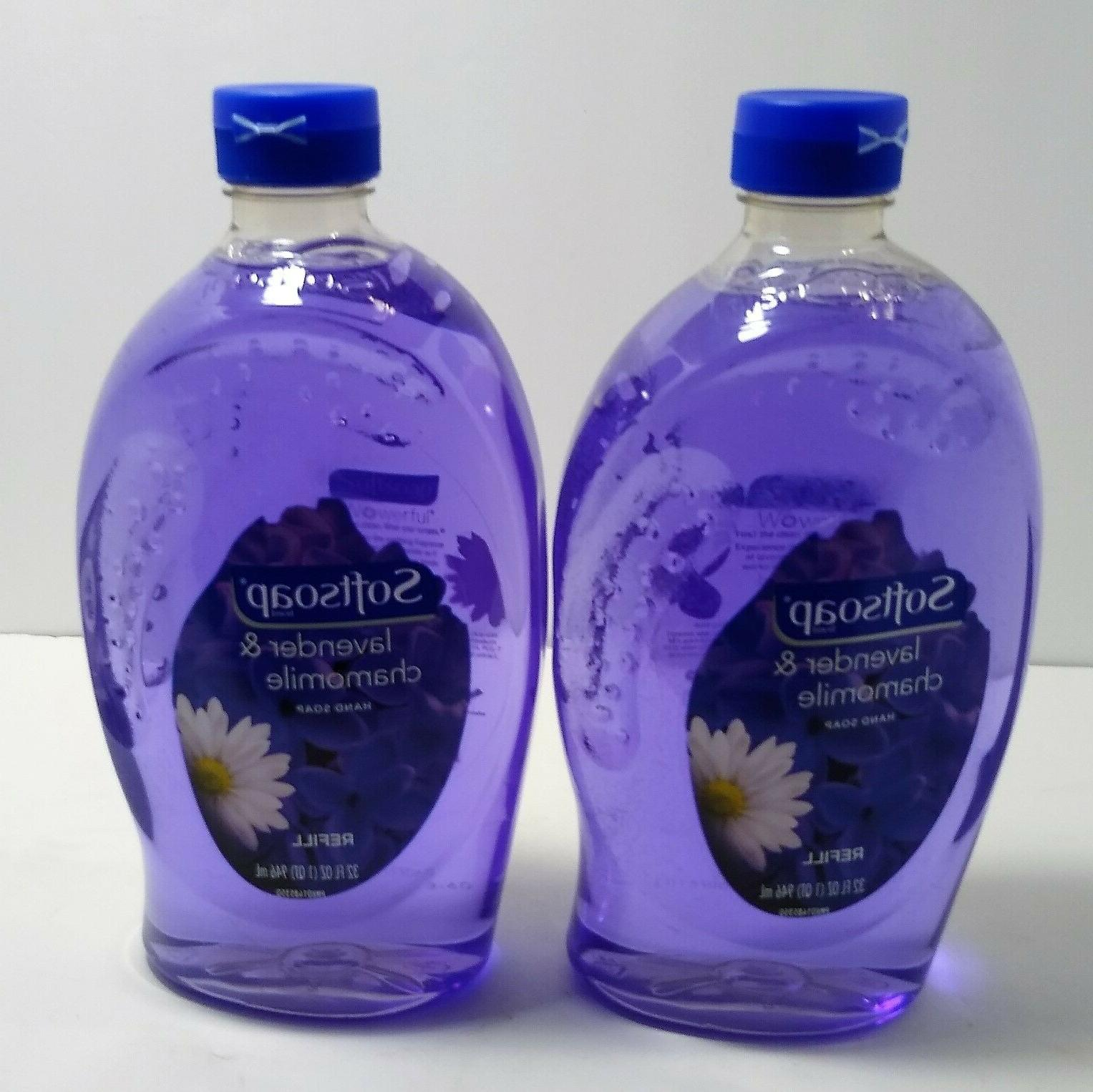 lavender and chamomile liquid hand soap refill