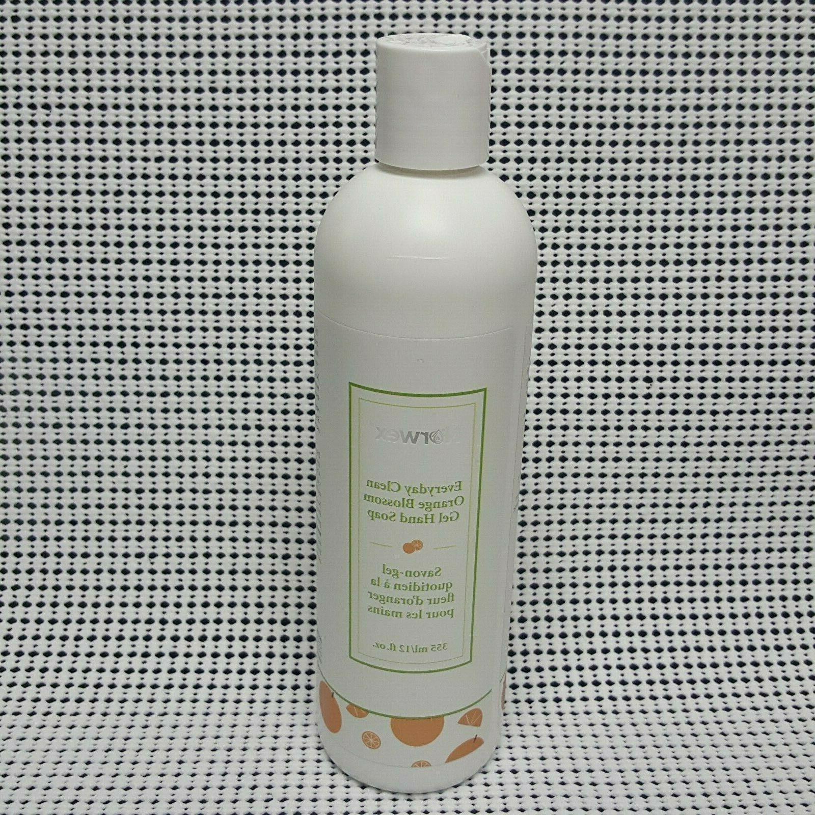 limited edition gel hand soap orange blossom