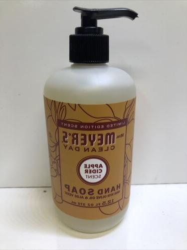Mrs. Meyer's Clean Day Liquid Hand Soap, Apple Cider, 12.5 F