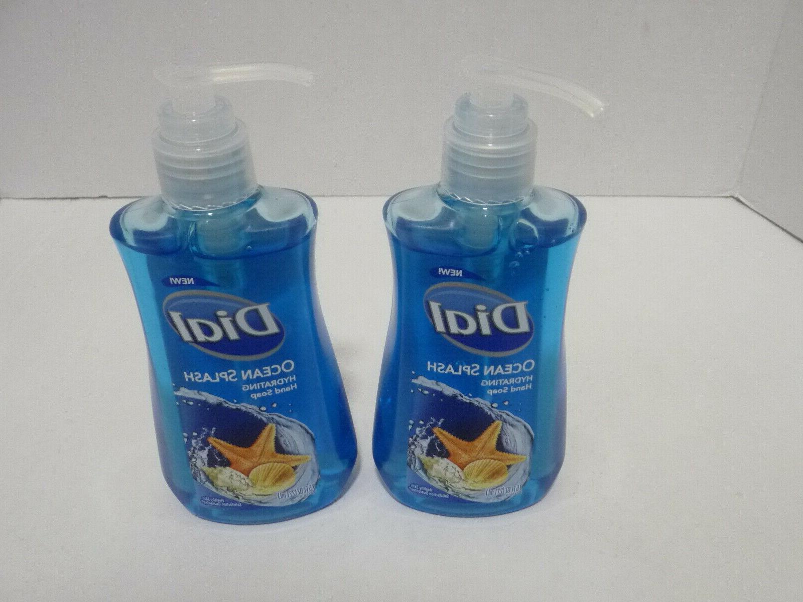 liquid hand soap blue ocean splash brand