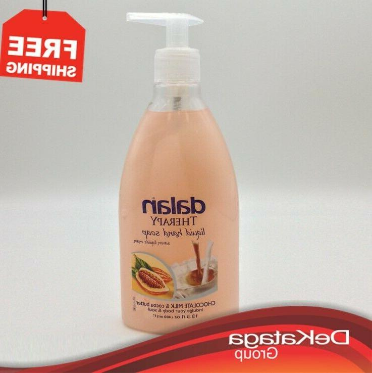 liquid hand soap chocolate milk and cocoa