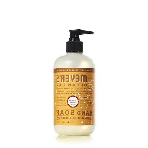 Mrs. Meyer's Clean Day Liquid Hand Soap - Orange Clove - 12.