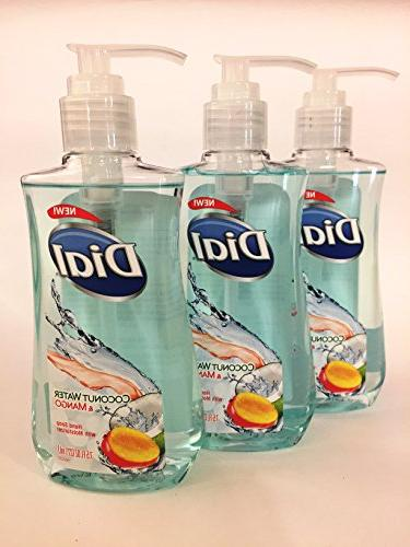 liquid hand soap coconut water
