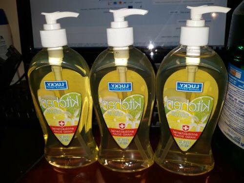 Lucky Super Soft Liquid Hand Soap, Tropical Garden, 13.5 Flu