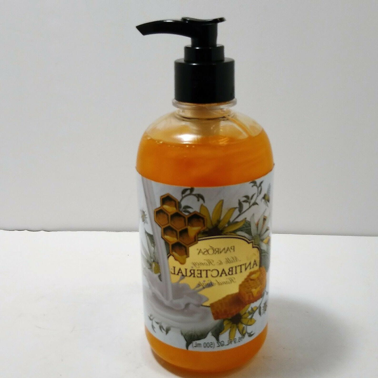 liquid hand soap milk and honey 16