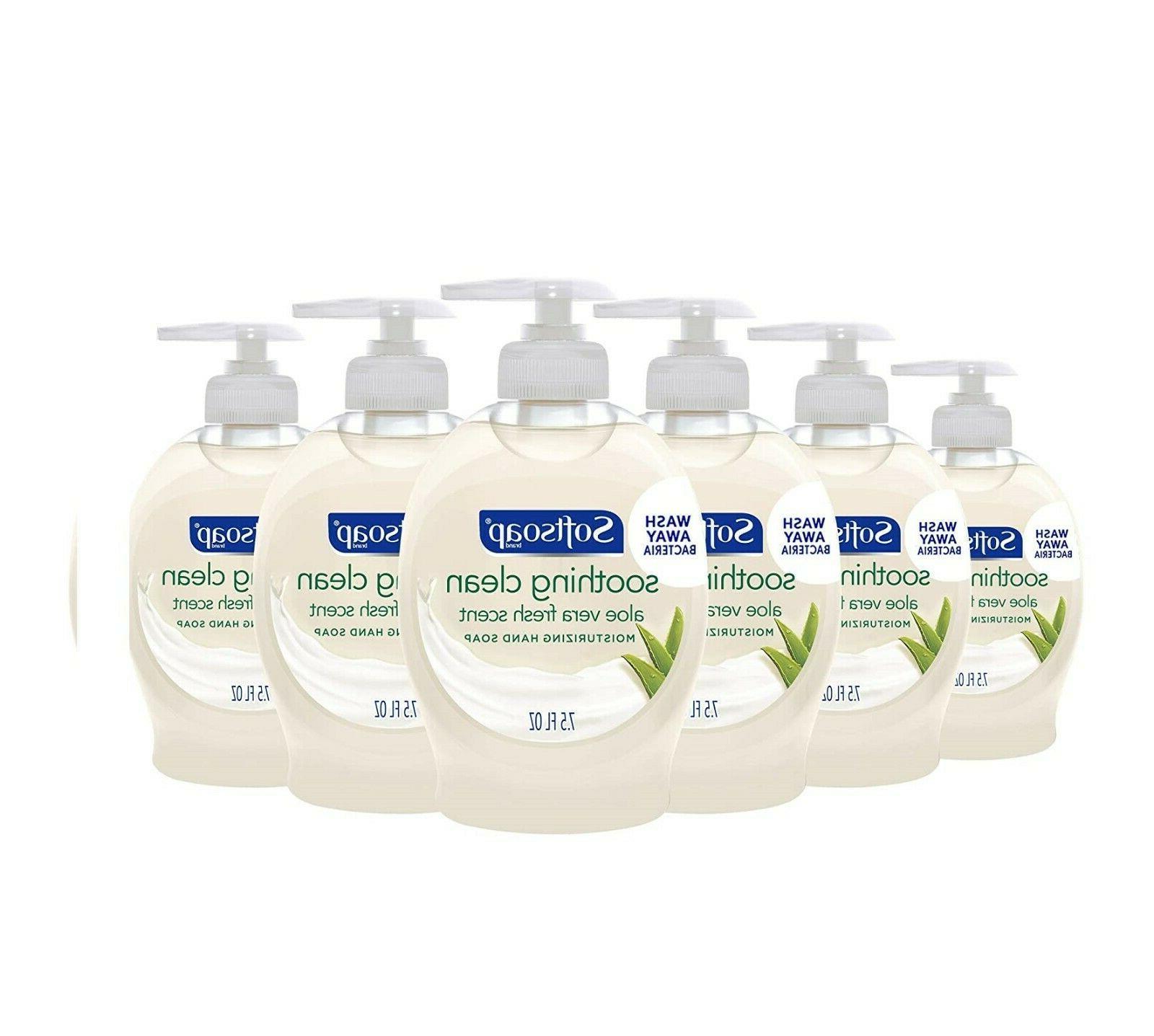 pack of 6 liquid hand soap milk