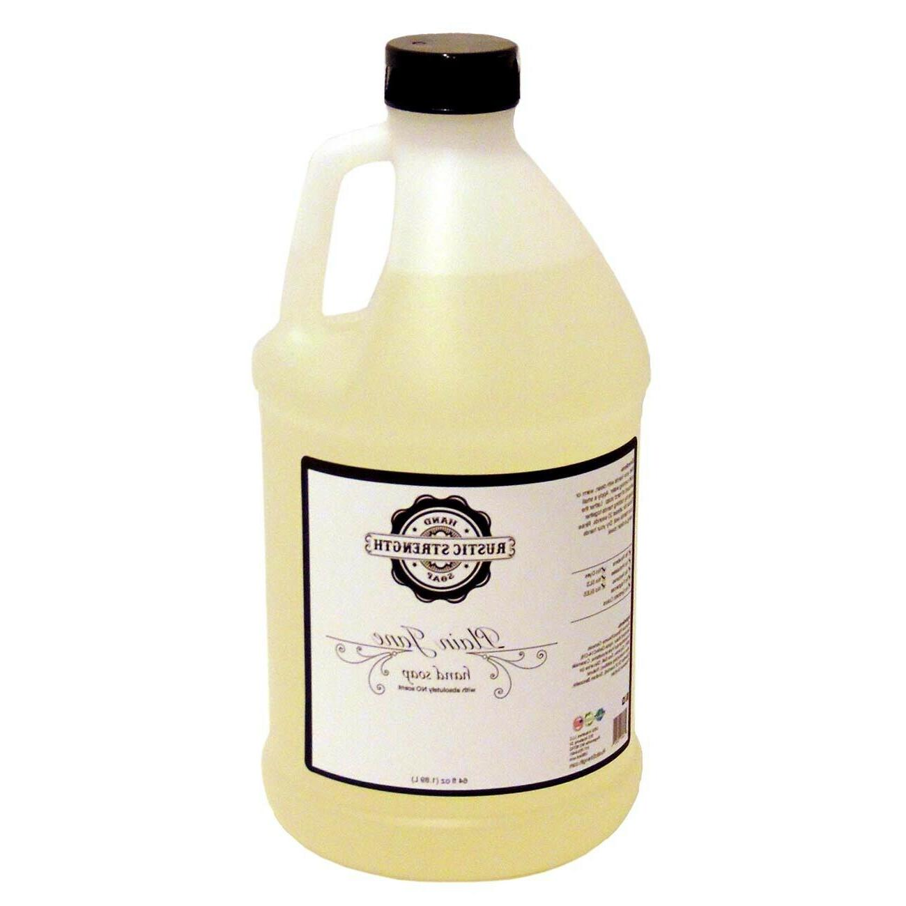 Liquid Hand Soap Plain Jane essential oil scent - 64oz conta
