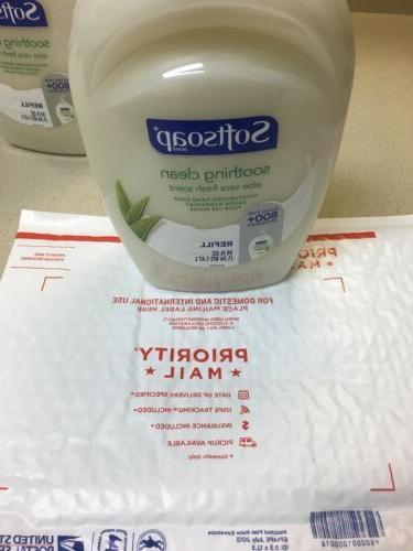Softsoap Liquid Refill Aloe Scent oz SAME DAY SHIP