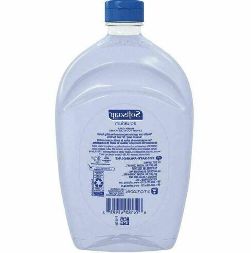 SOFTSOAP Liquid Refill Aquarium oz Clear Dispenses