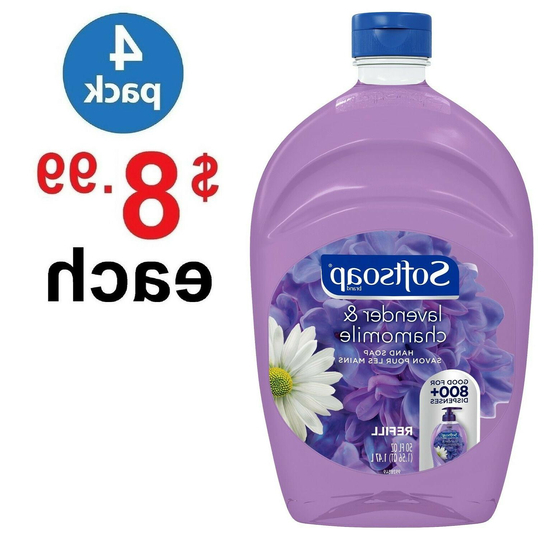 Softsoap Liquid Hand Soap Refill, Lavender and Chamomile  50