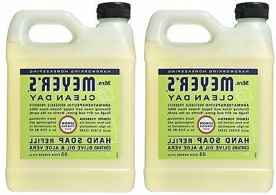 liquid hand soap refill lemon verbena 33