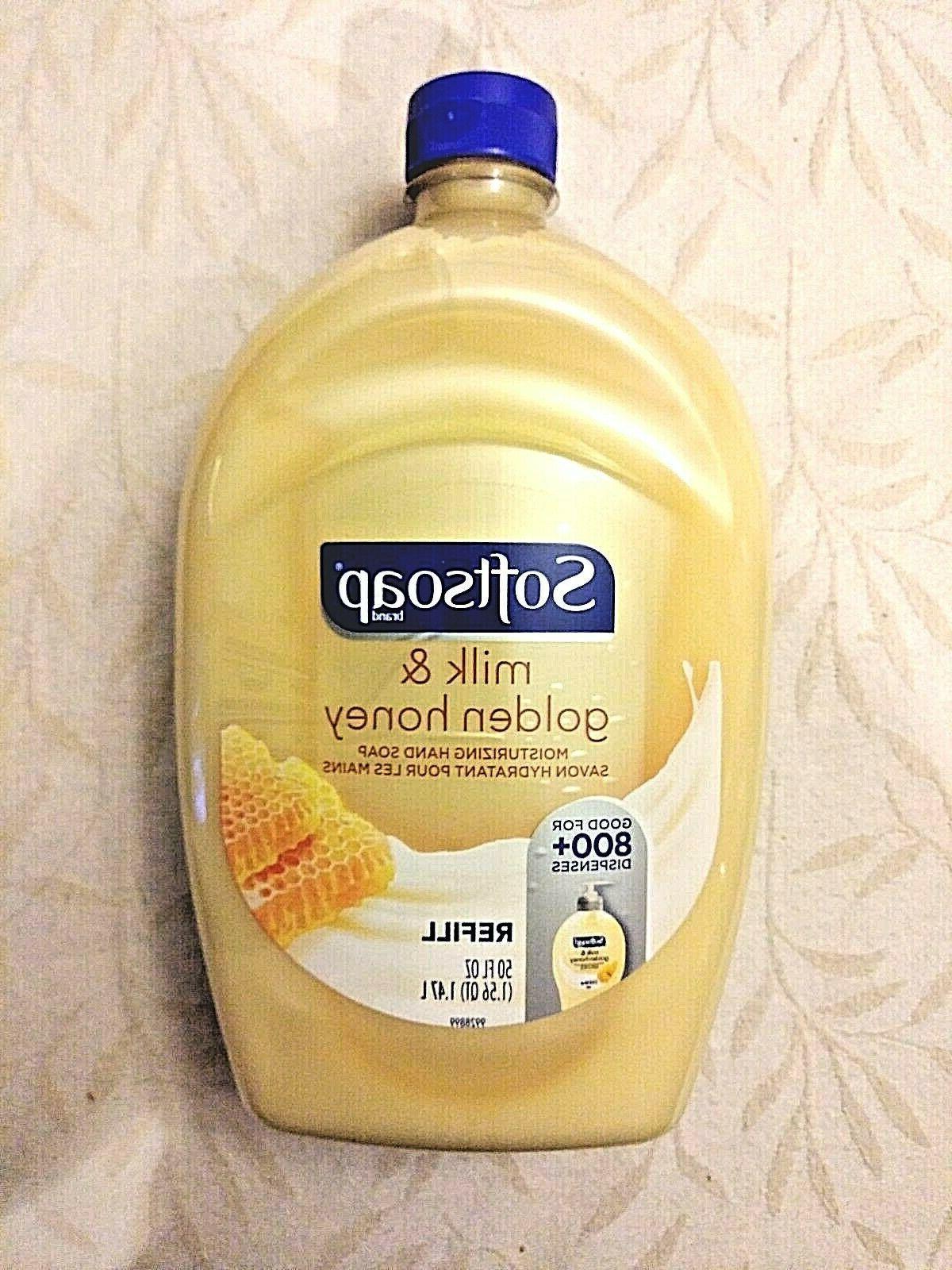 liquid hand soap refill milk and honey