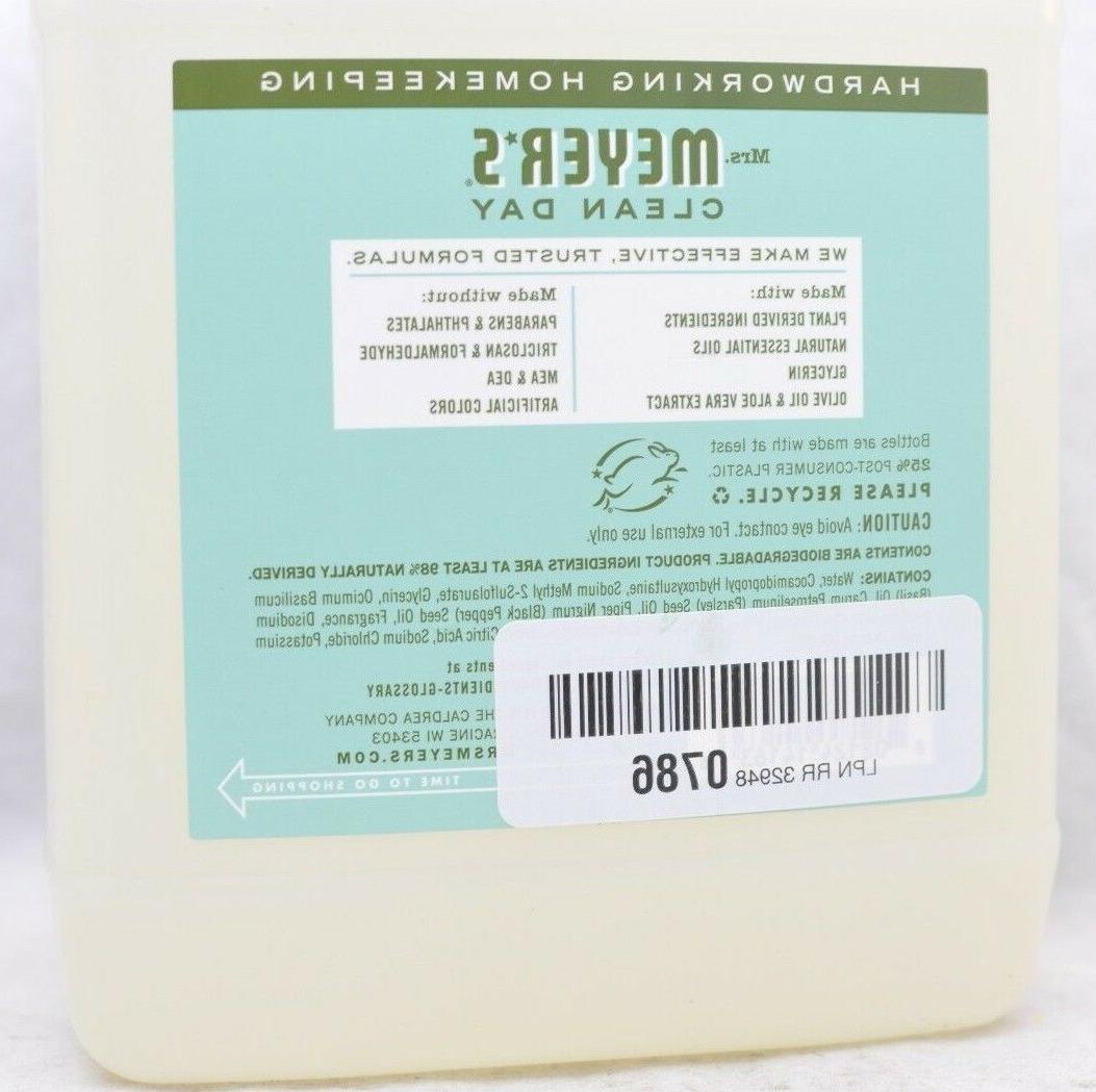 Mrs. Liquid Soap Refill - Basil - - Liquid Hand
