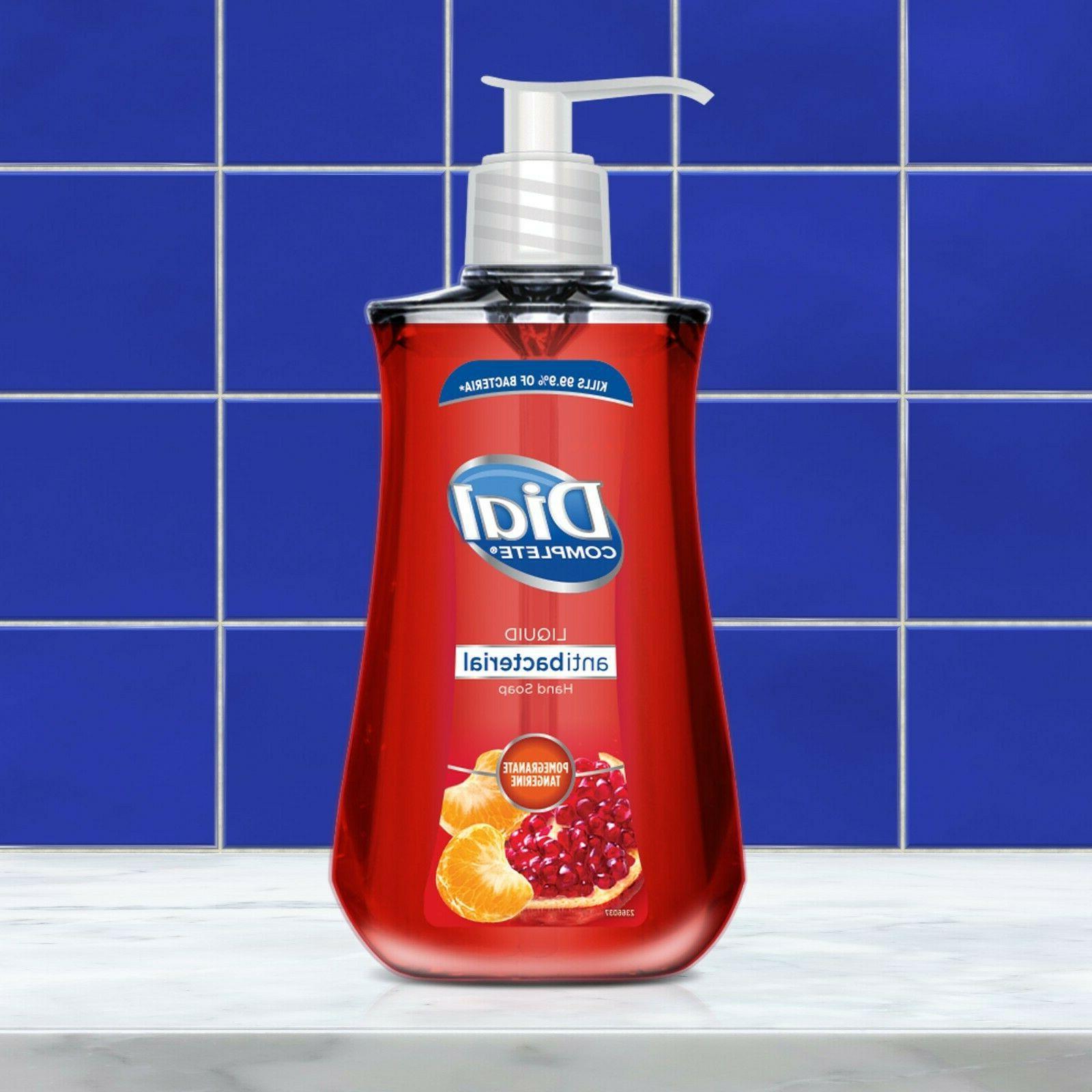 Dial Liquid Hand Soap of germs bacteria 9.375 oz