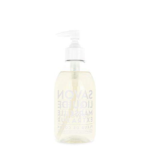 liquid soap cotton flower plastic