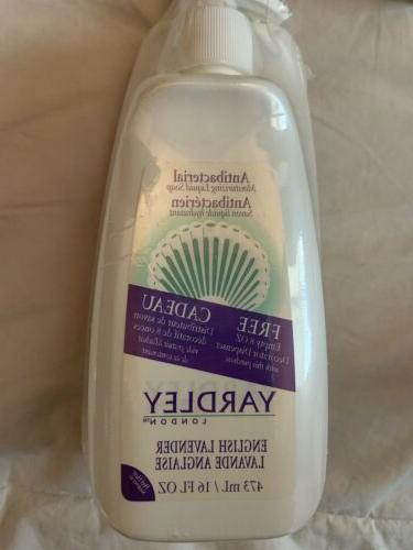 Yardley London English Lavender Liquid Hand Soap Refill, 16