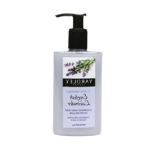 Yardley London Luxurious Hand Soap Classic English Lavender