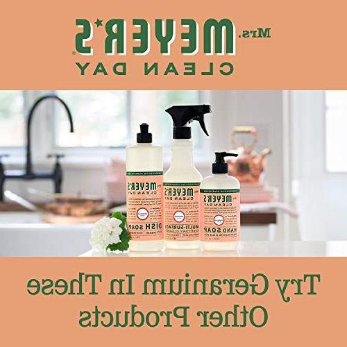 Mrs. soap, Geranium, 12.5 oz