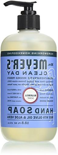 MRS MEYERS CLEAN DAY Hand Soap, Liquid Bluebell, 12.5 Ounce