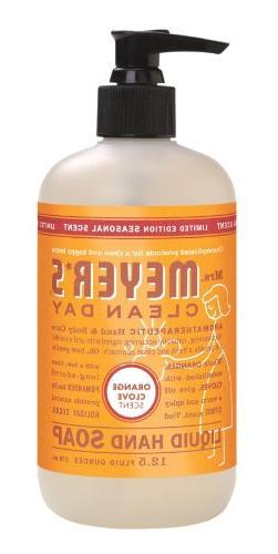Mrs. Meyers Clean Day Liquid Hand Soap - Orange Clove, 12.50
