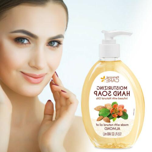 Personal Care Moisturizing Soap. Made Almond