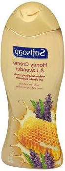 Softsoap Moisturizing Body Wash Honey Creme & Lavender, 18.0