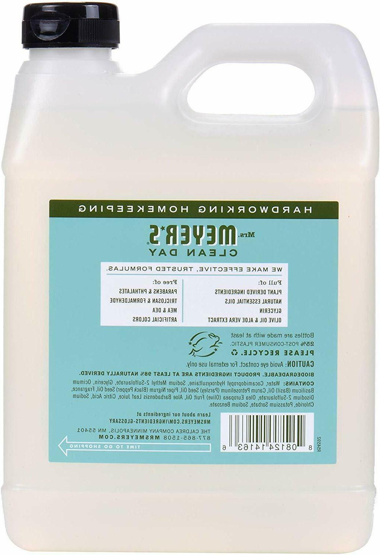 Mrs Meyer Foaming Soap Refill Clean Dispenser Liquid Natural 33oz