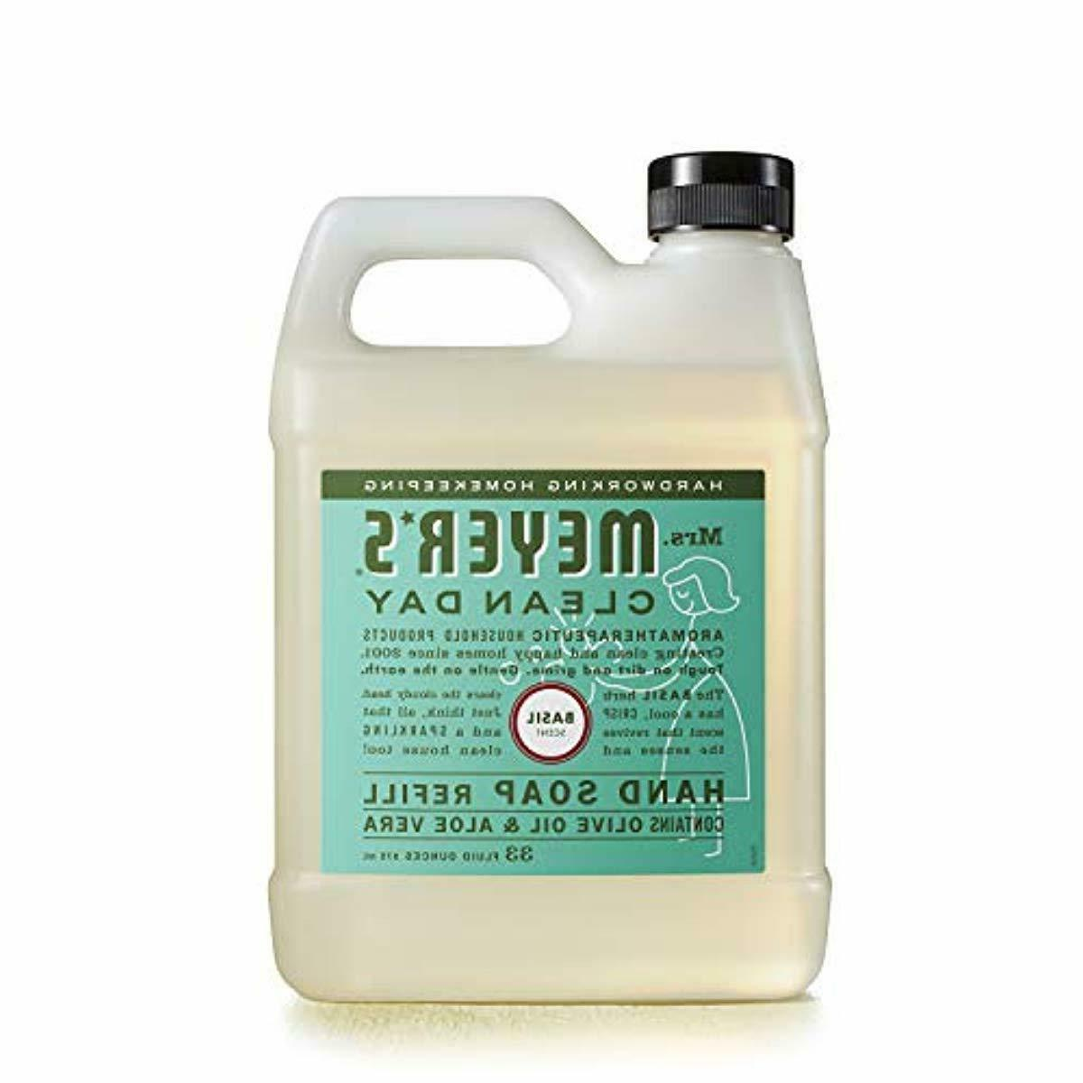 Mrs. - Liquid Hand Soap Refill, Basil - 33