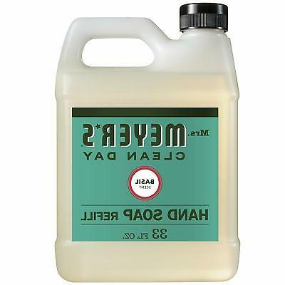 mrs meyer s liquid hand soap refill