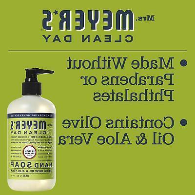 Mrs. Meyer's Clean Day Liquid Soap Lemon Verbena oz Pack